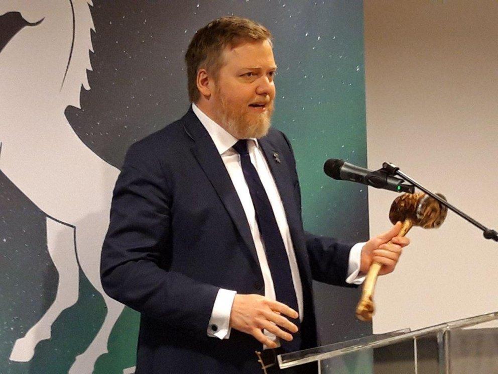 Ræða formanns Miðflokksins á flokksráðsfundi 9.nóvember